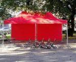 vuokraa teltta