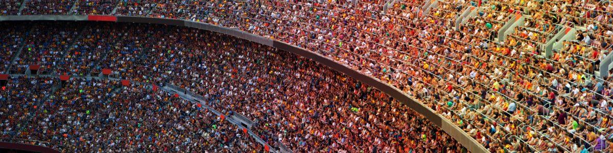 Kuva Stadionista, jossa monet projektimme toteutuvat